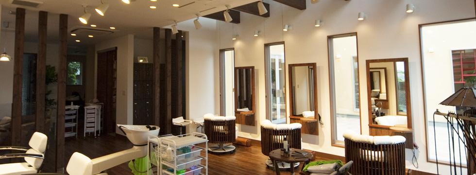 ヘアスタジオ|富士市の美容室とエステサロンのサロンドブー
